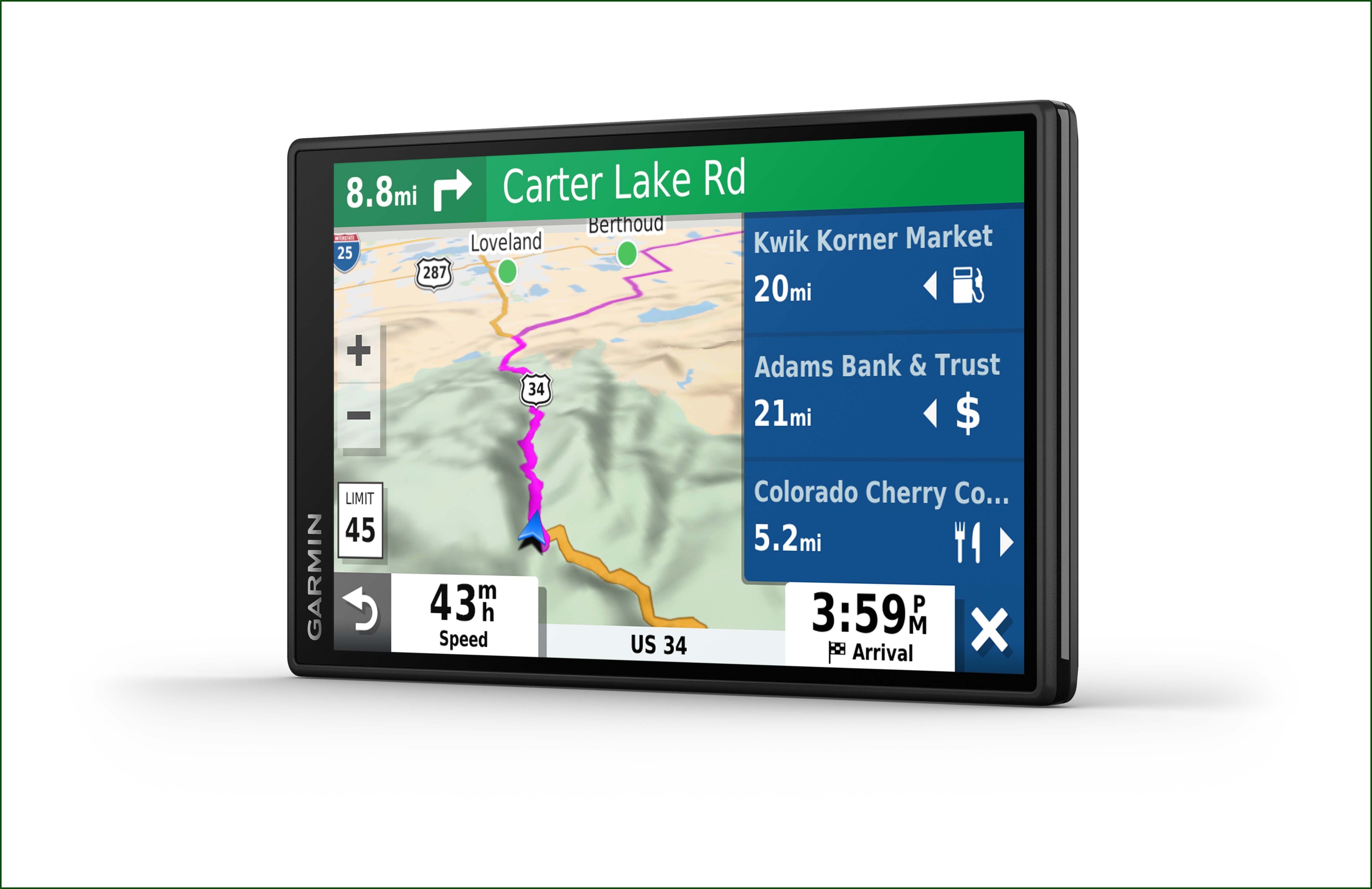 Garmin Drive 52 5 Gps Navigation System With Lifetime Maps