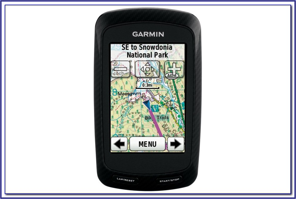Garmin Edge 810 Maps