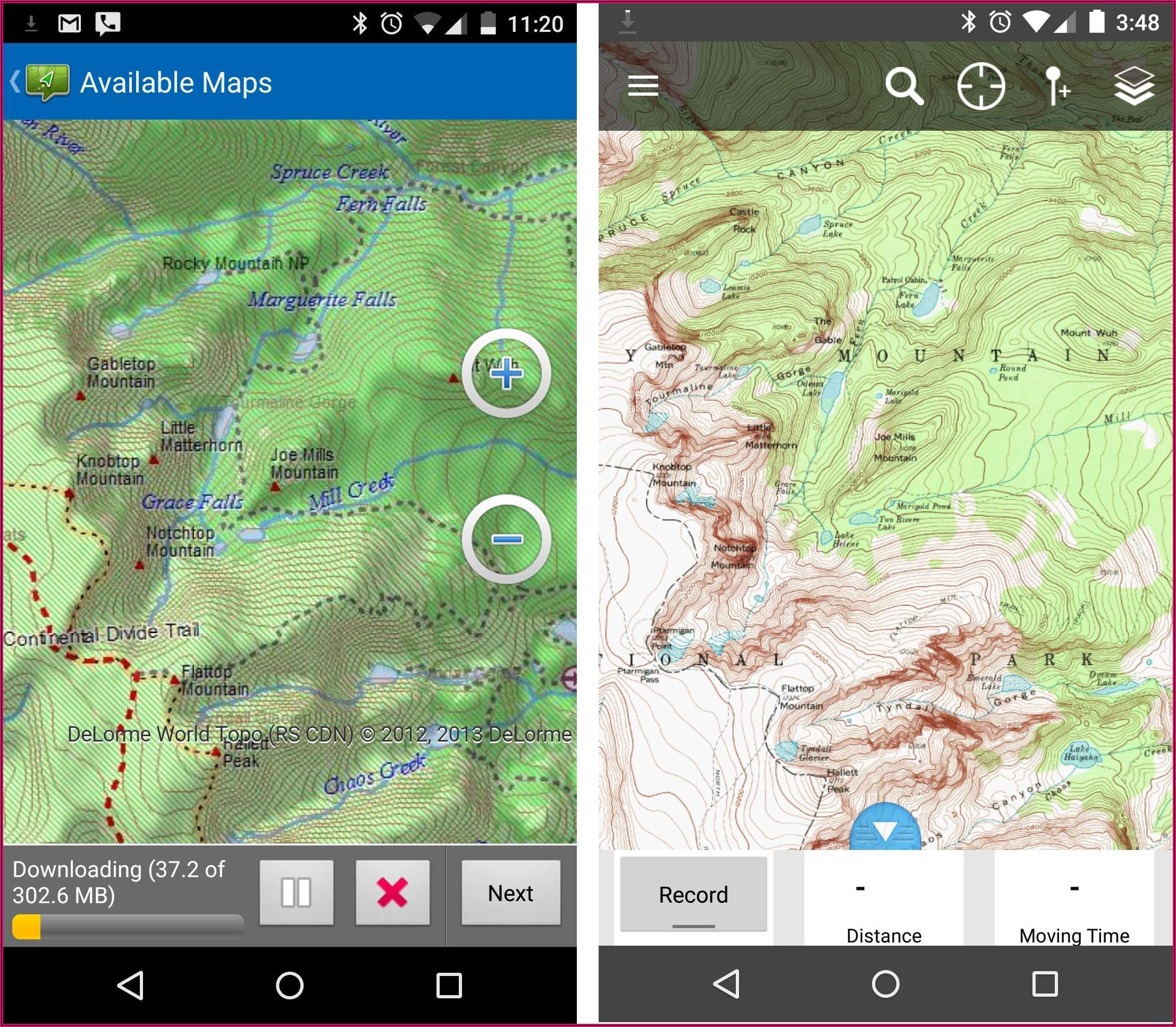 Garmin Inreach Explorer Hunting Maps