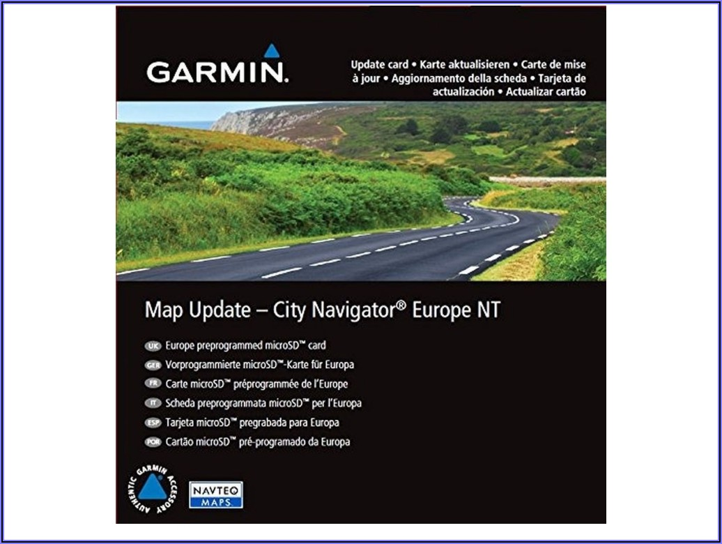 Garmin Online Map Update