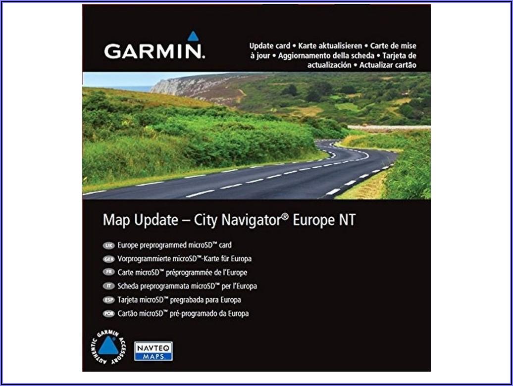 Garmin Online Map Update