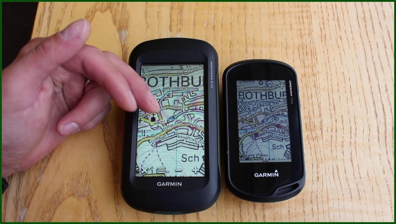 Garmin Oregon 700 Maps