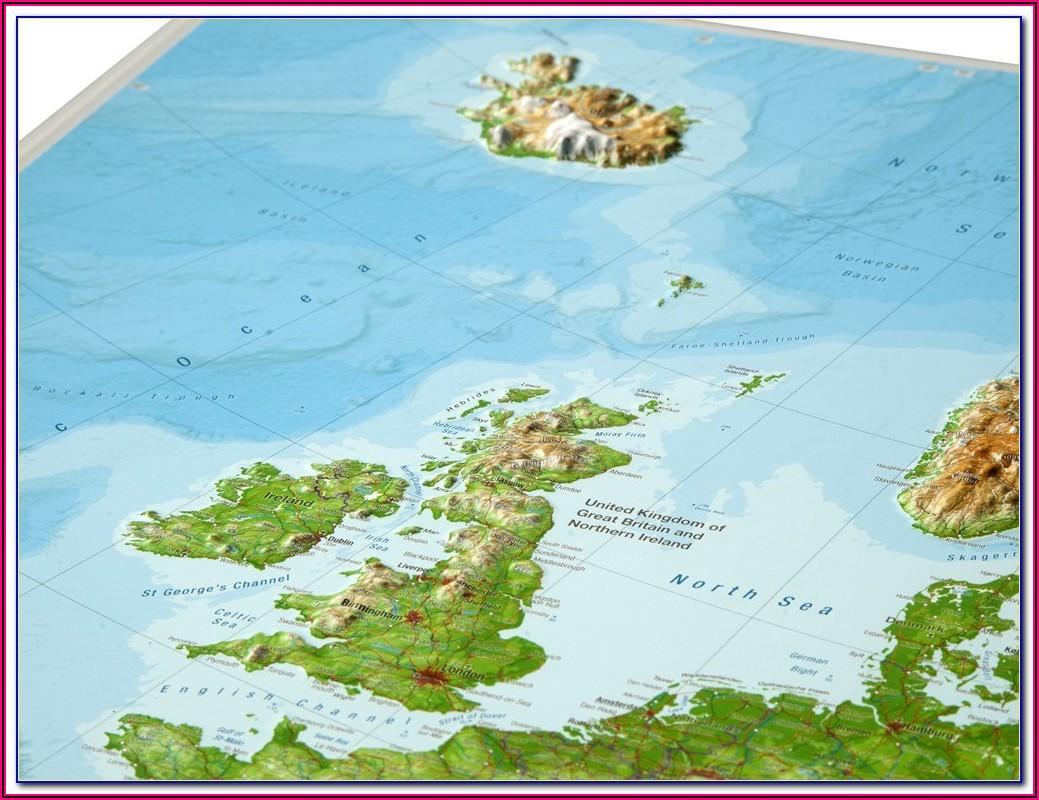 Gleneagles Golf Course Scotland Map