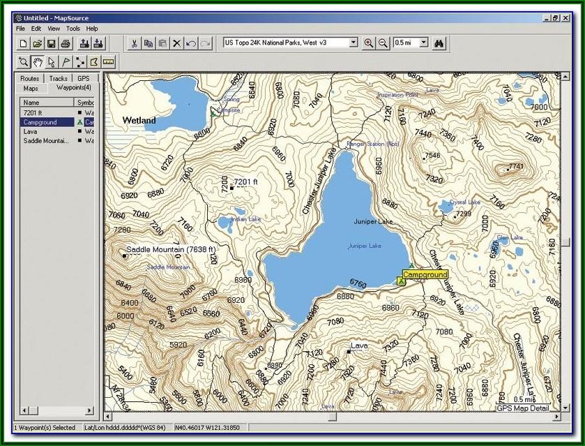 Gps Topo Maps For Garmin