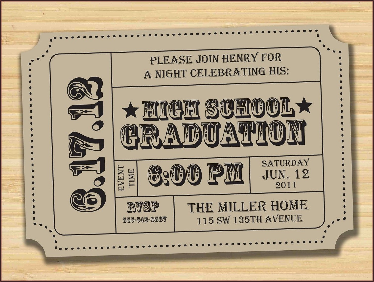 Graduation Invitation Card Ideas