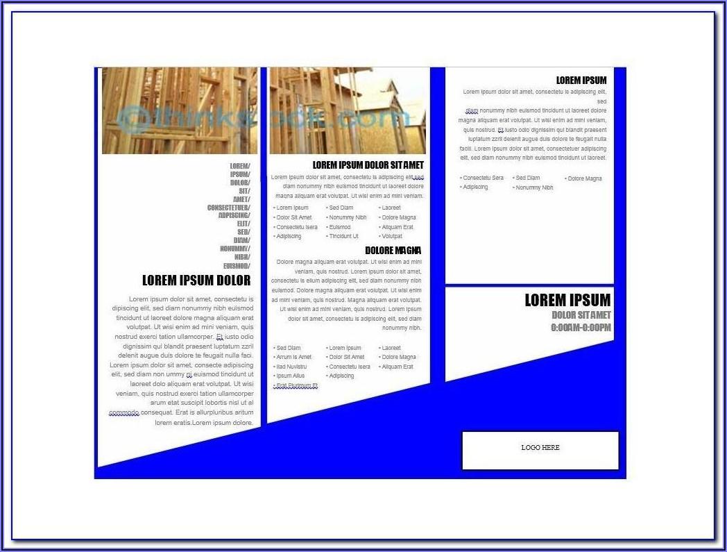 Hotel Brochure Design Templates Psd Free Download