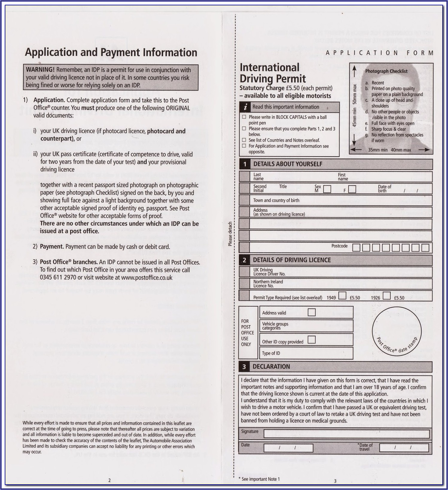 International Invoice Form