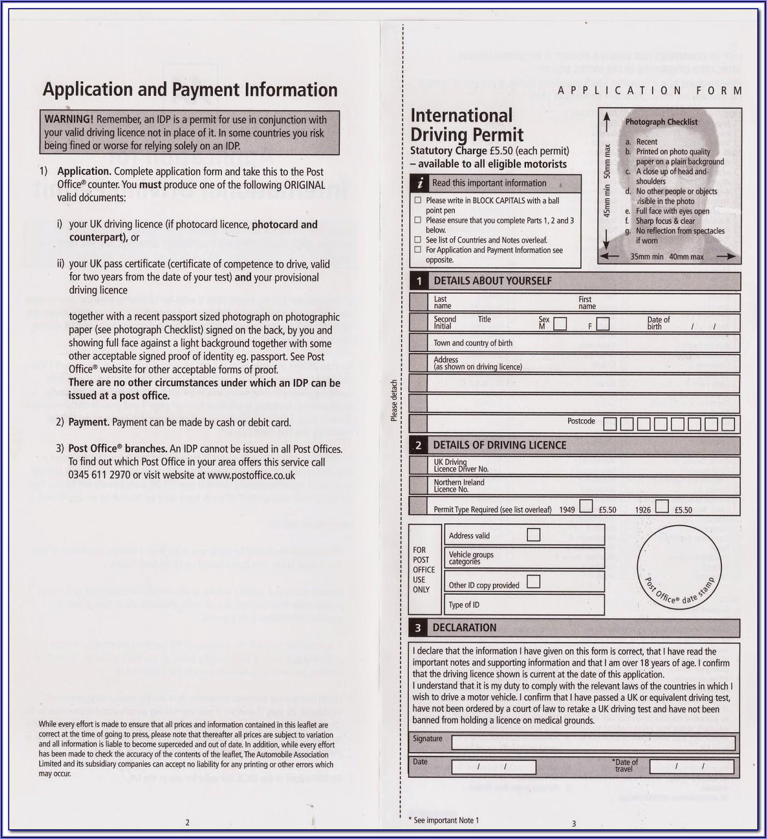 International Invoice Form