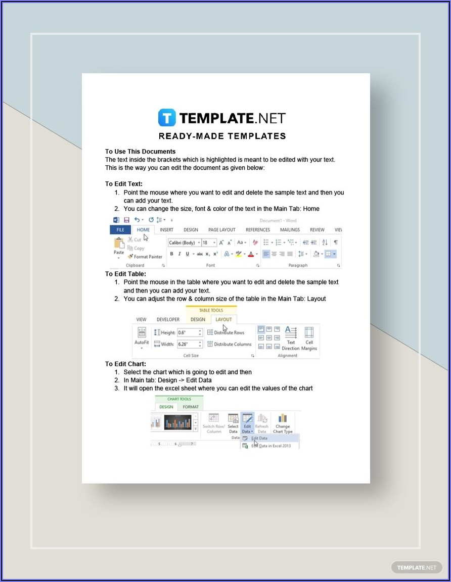 International Invoice Template Word