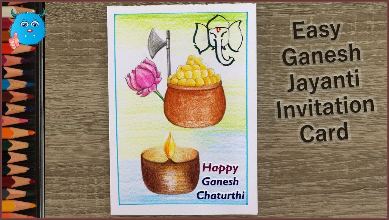 Invitation Card Format For Ganesh Chaturthi