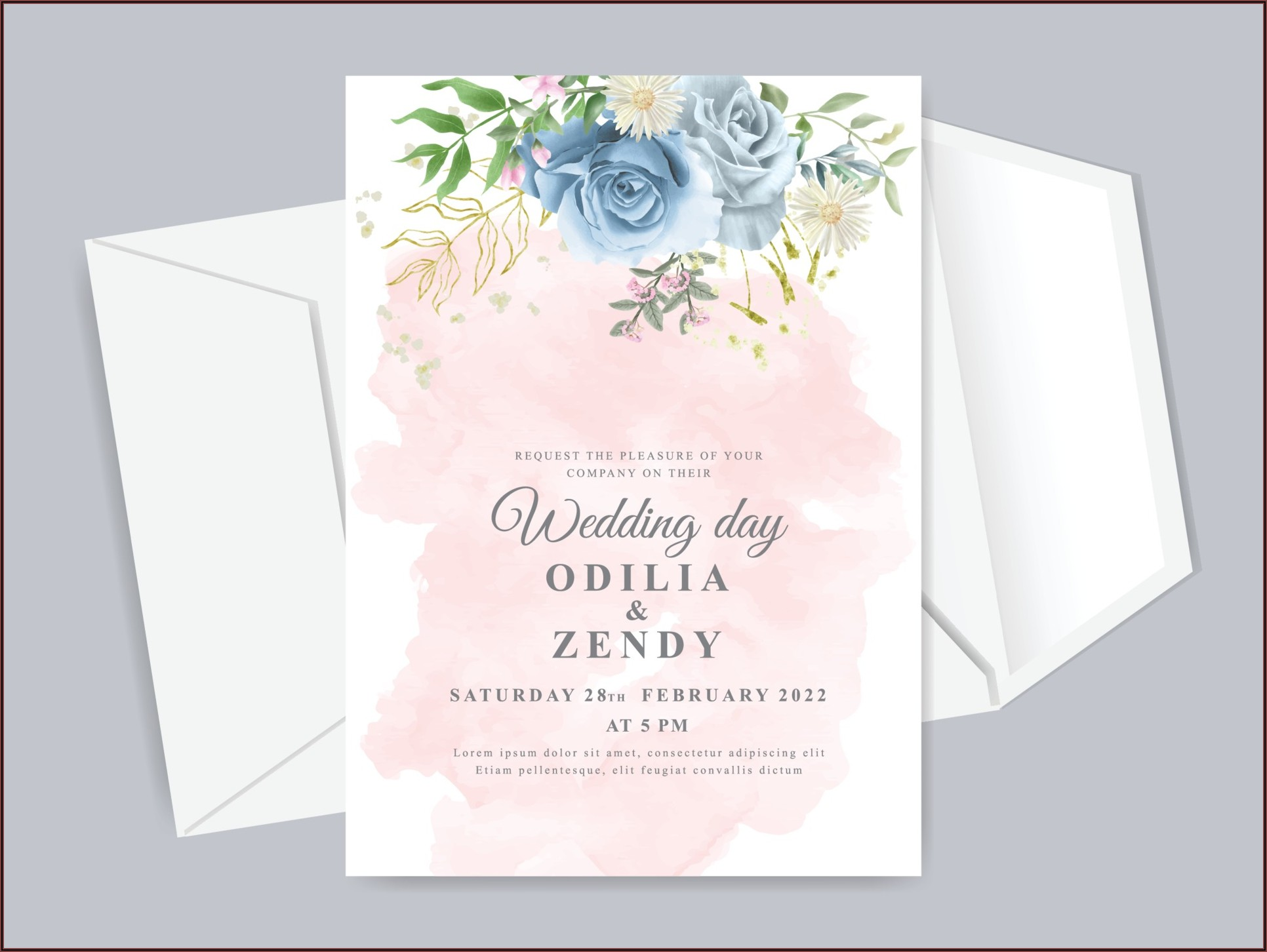 Invitation Card Template Free