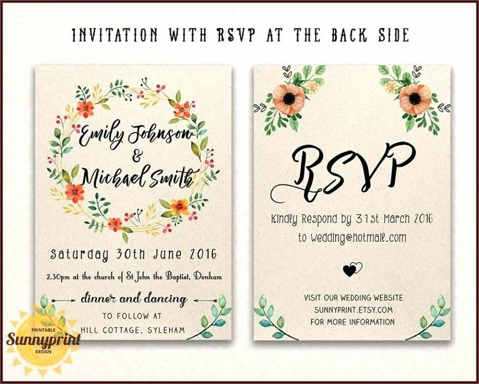 Invitation Templates Online Free