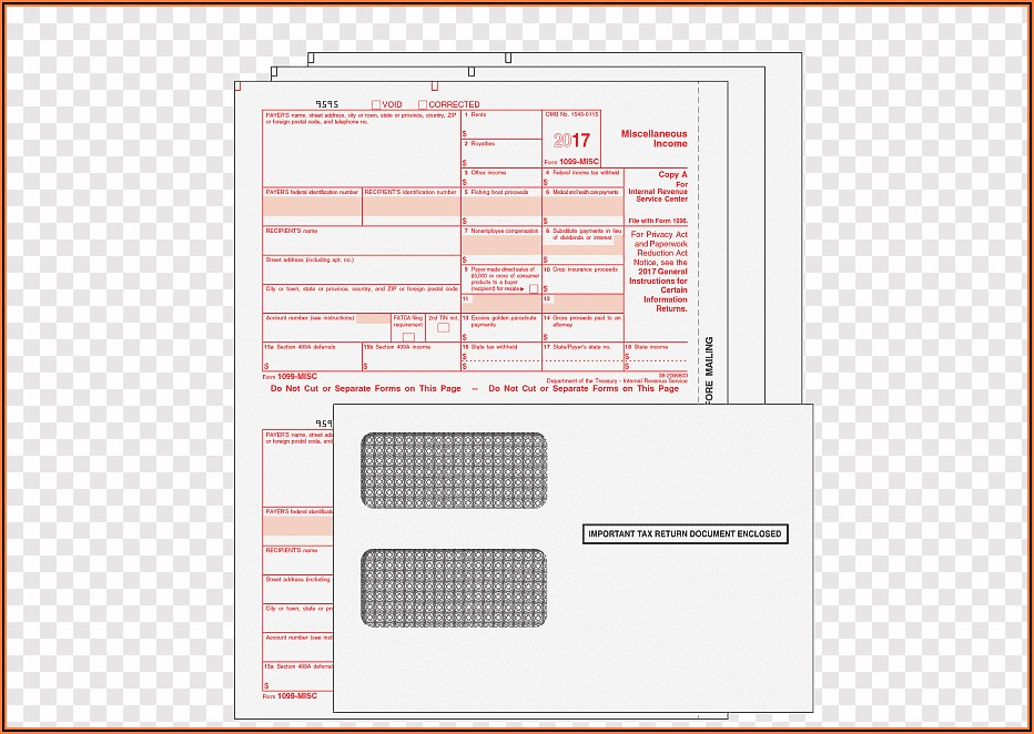 Irs Tax Forms 1099