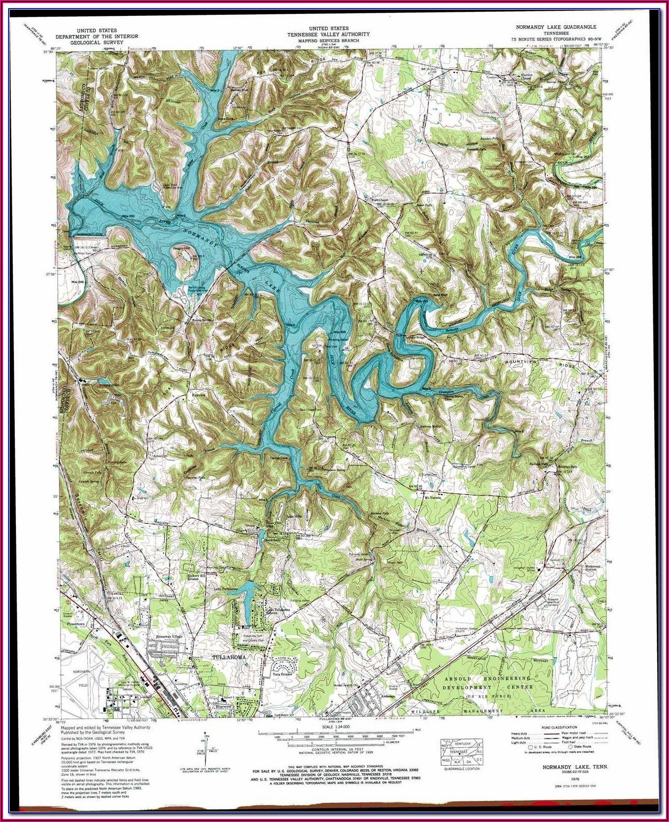Lake Erie Western Basin Topo Map