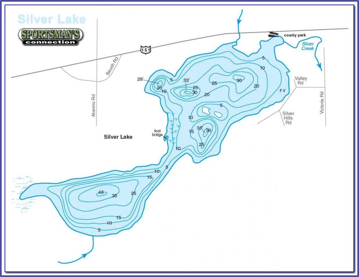 Lake Huron Contour Map
