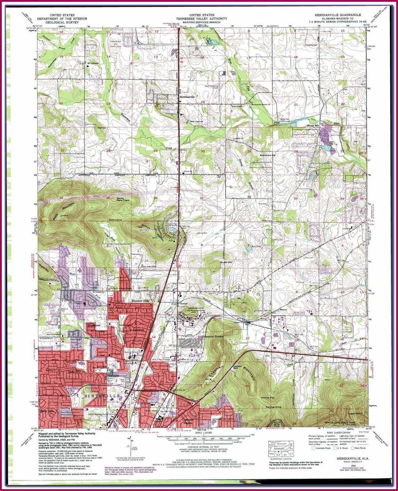 Land Ownership Maps Alabama
