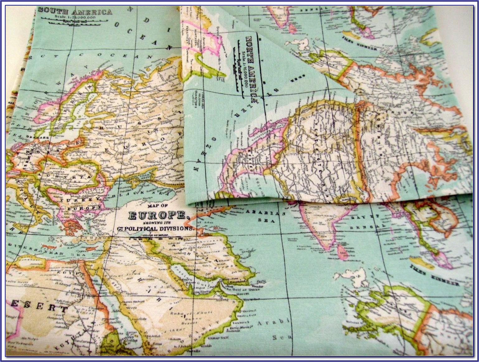 Large Blank World Map Pdf