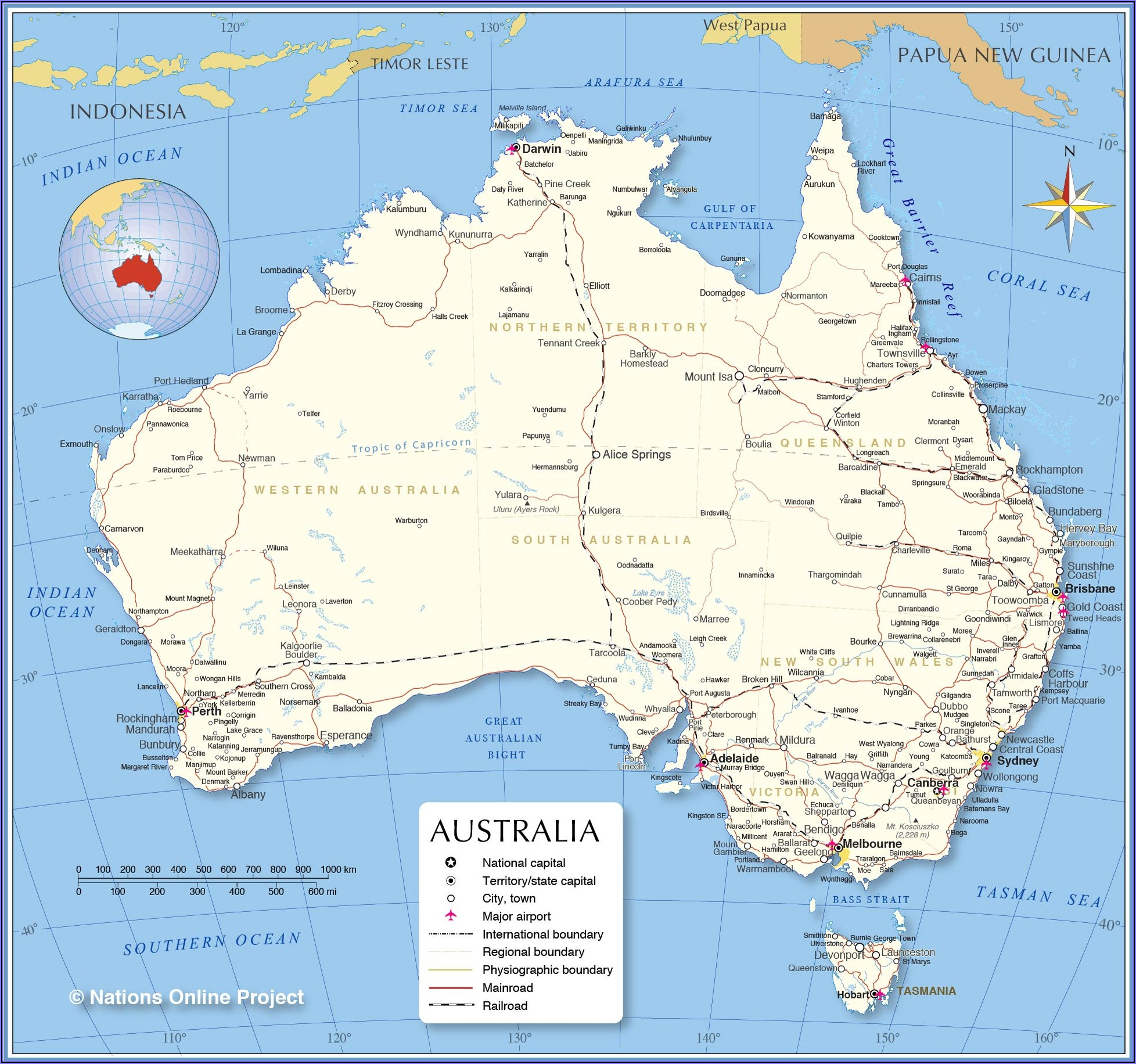Latest Aerial Maps Australia