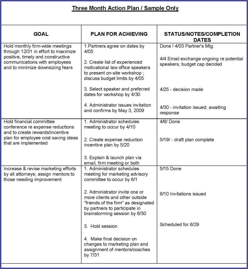Law Firm Business Plan Template Free