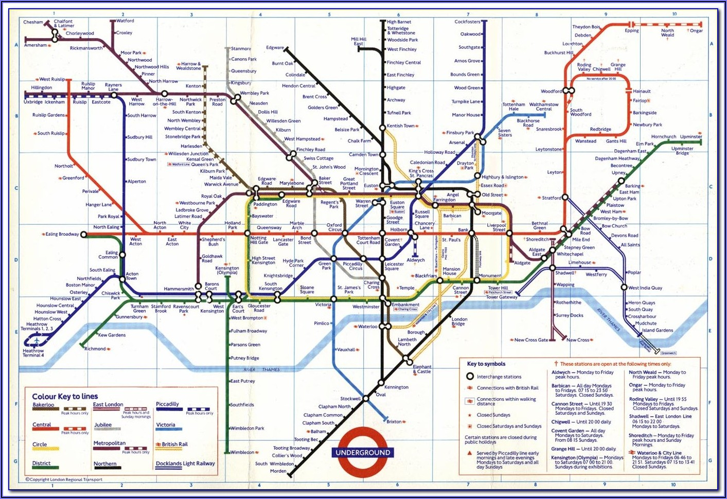 London Tube Map Artwork