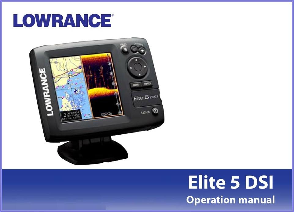 Lowrance Elite 5 Dsi Maps