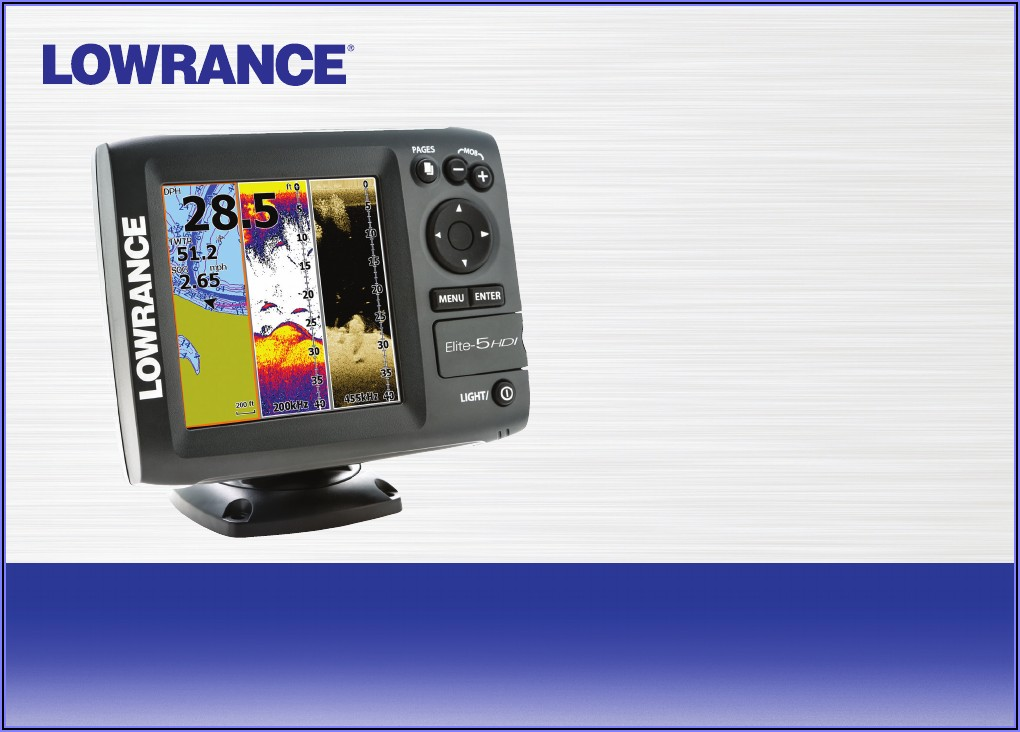 Lowrance Elite 5 Hdi Maps