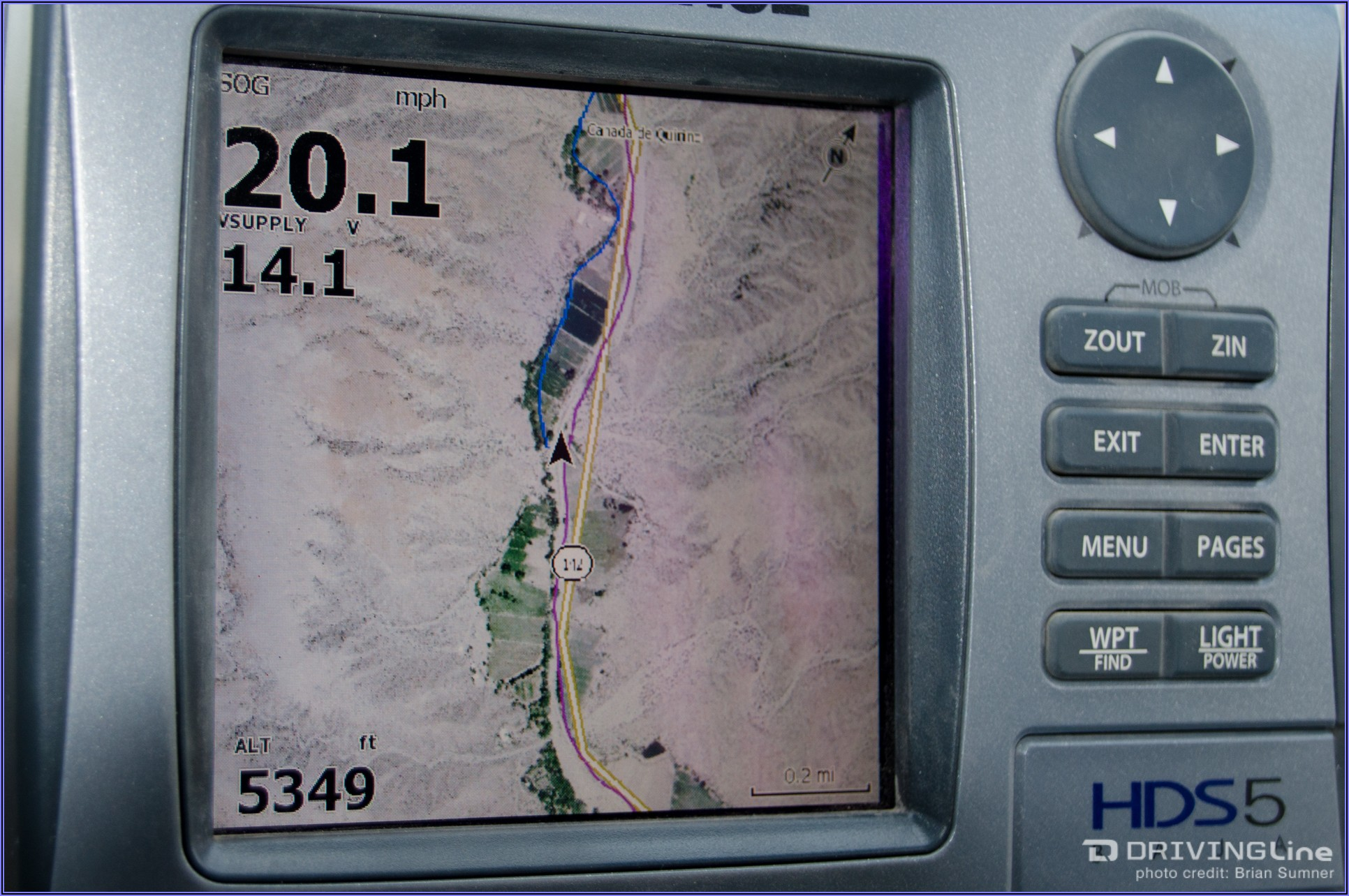 Lowrance Elite 5 Map Card