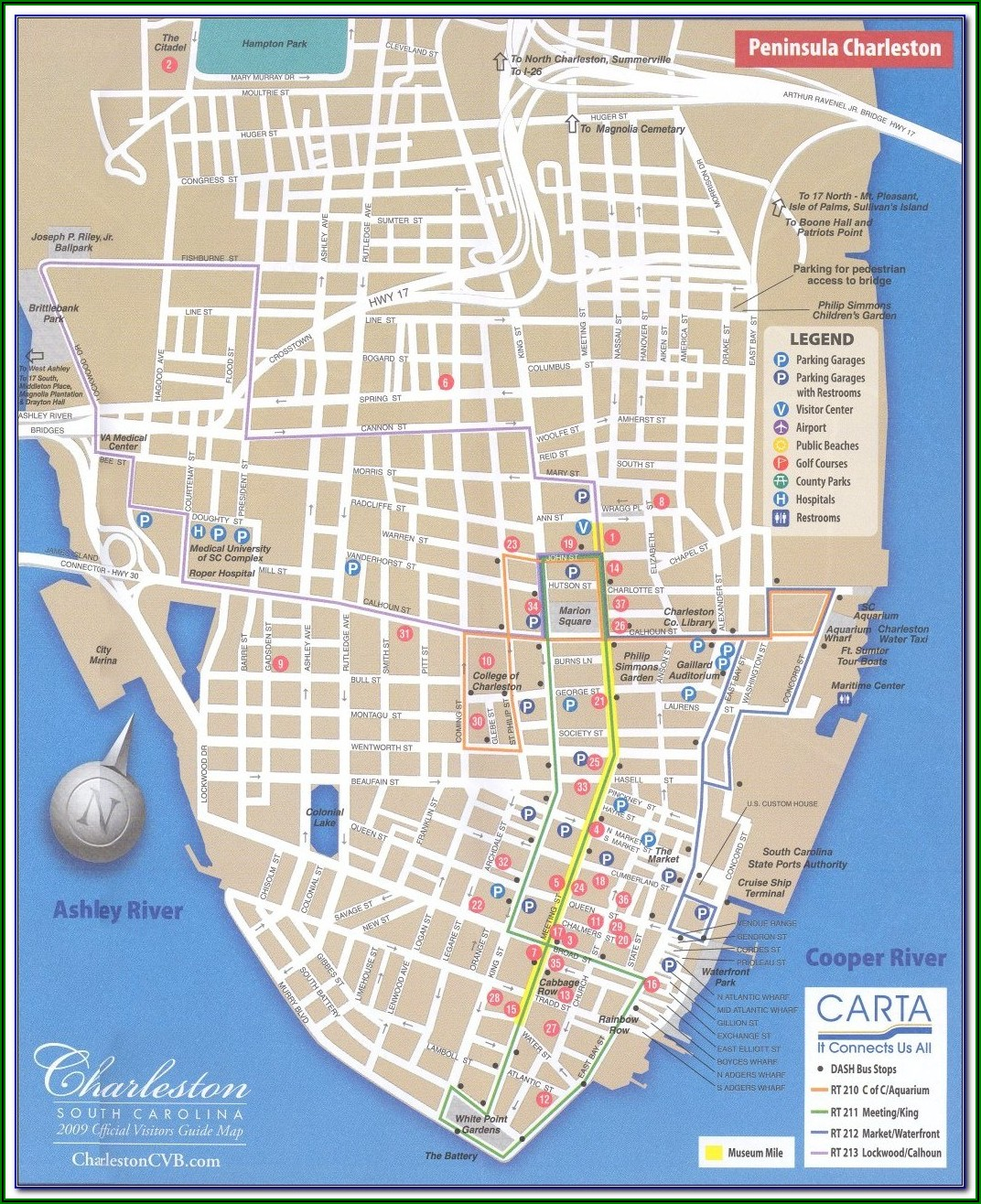 Map Charleston Sc Airport