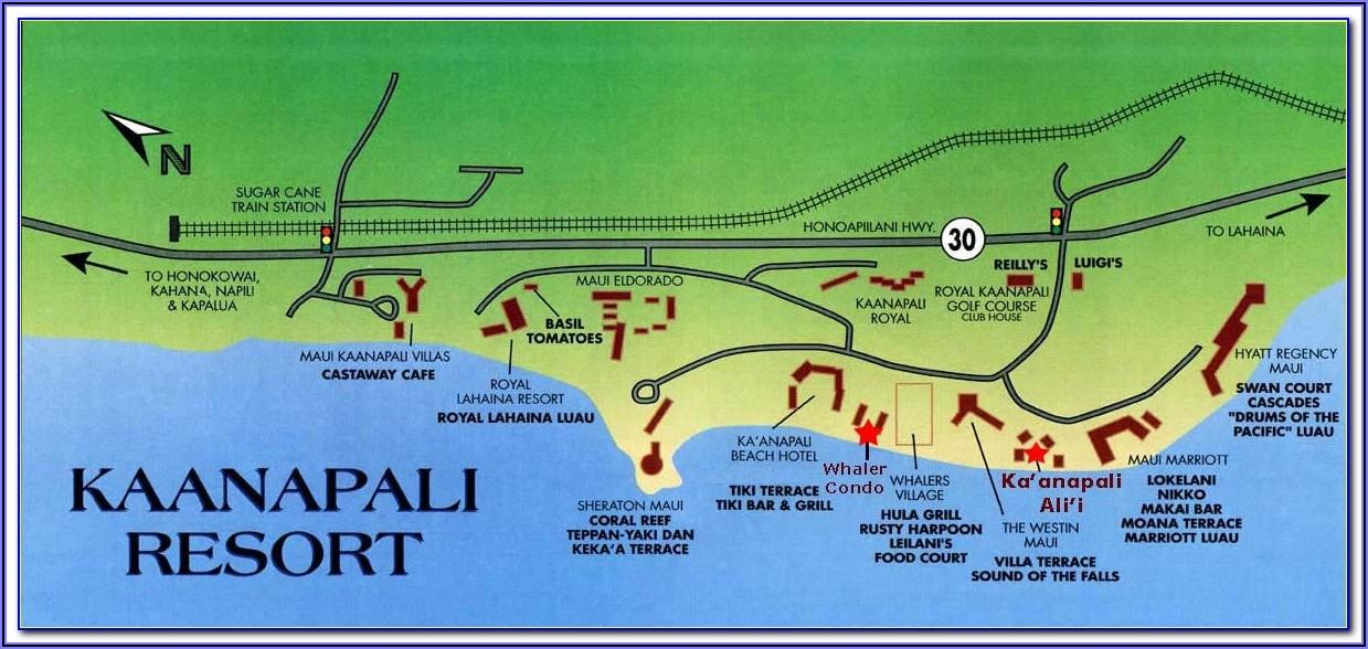 Map Of Waikiki Hotels And Condos