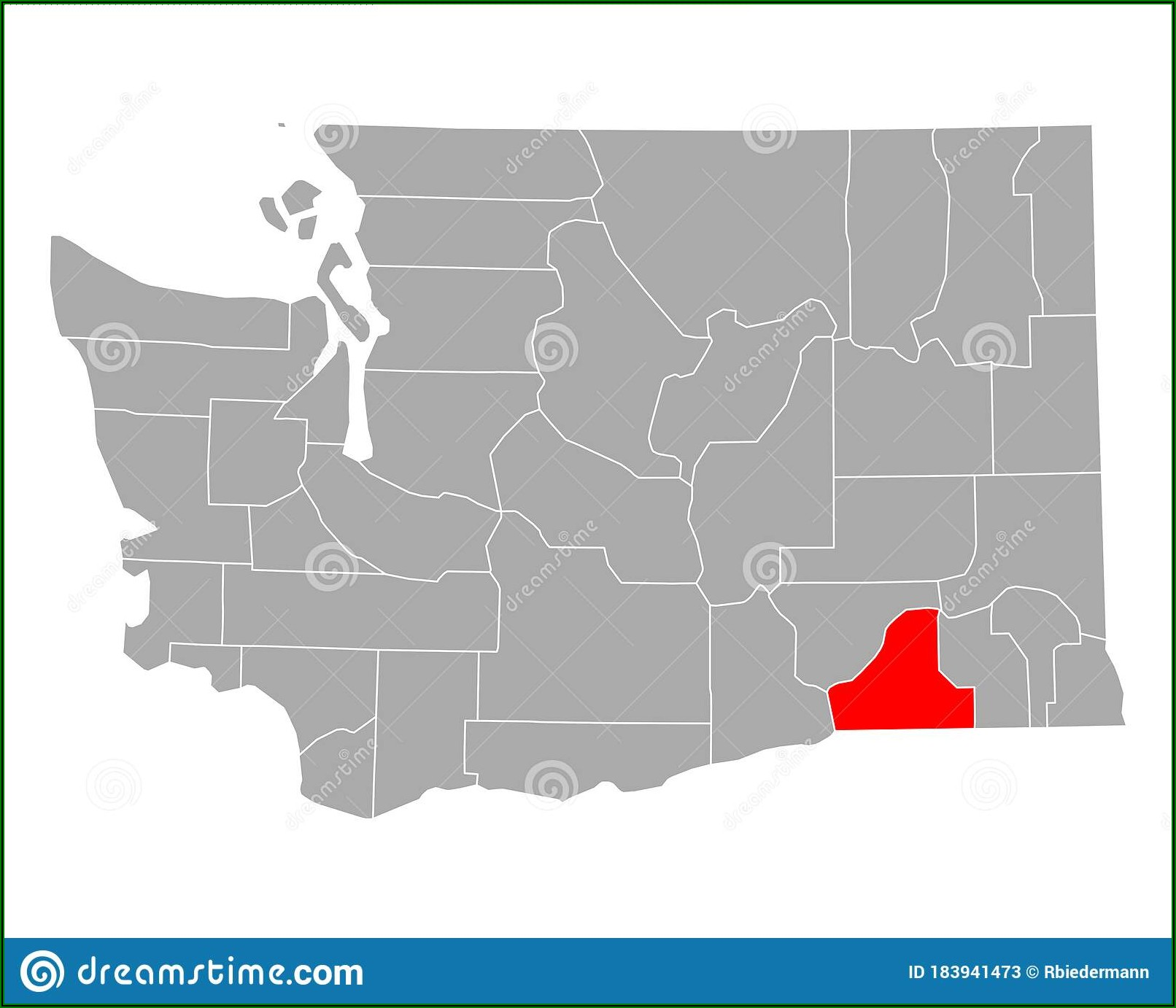 Map Of Walla Walla Washington