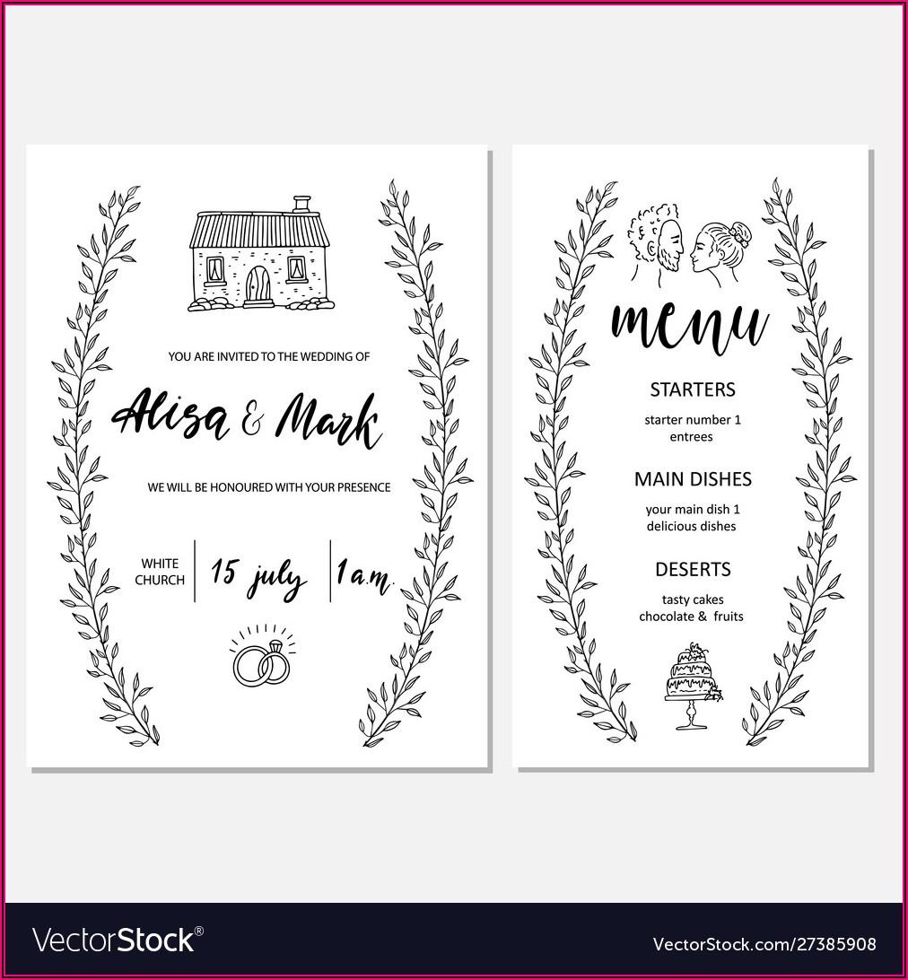 Map Wedding Card