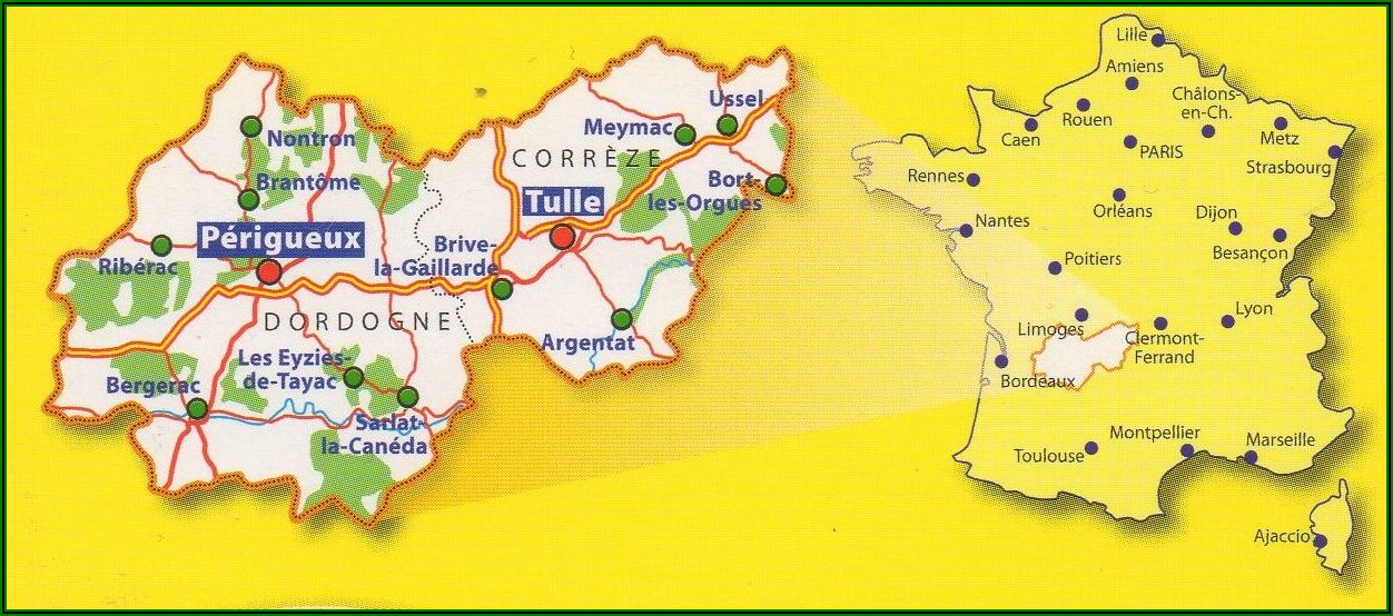 Maps France Michelin