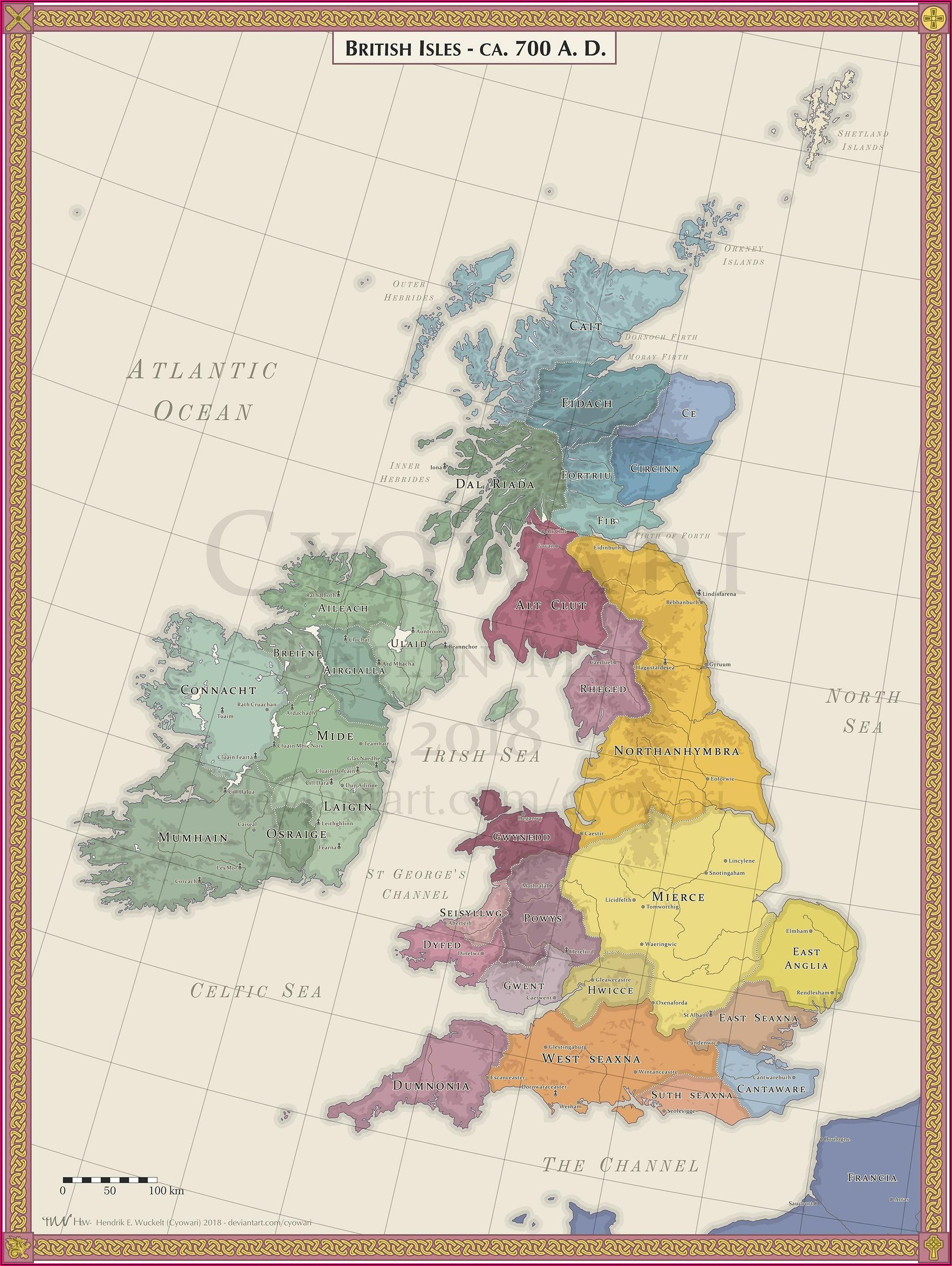 Maps Of British Isles