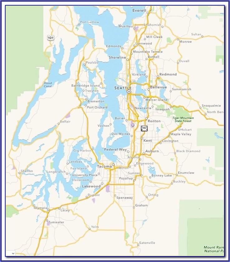 Marine Area 11 Puget Sound Map