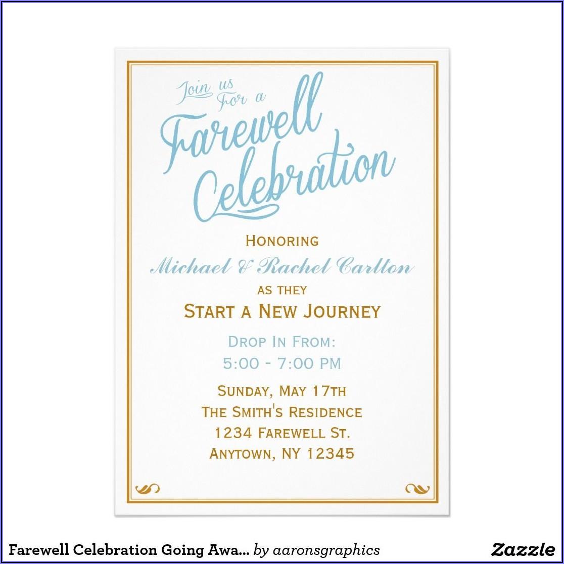 Matric Farewell Invitation Templates