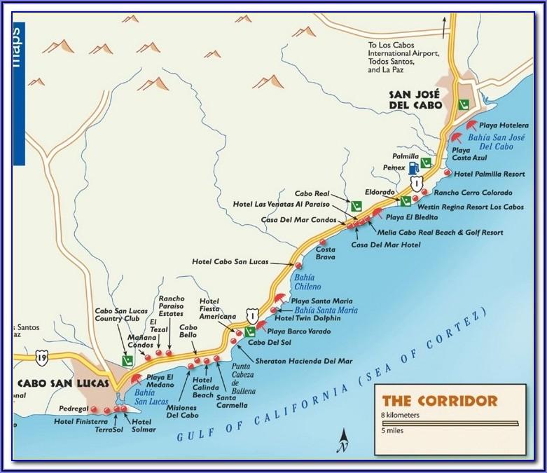 Mayan Riviera Hotel Zone Map