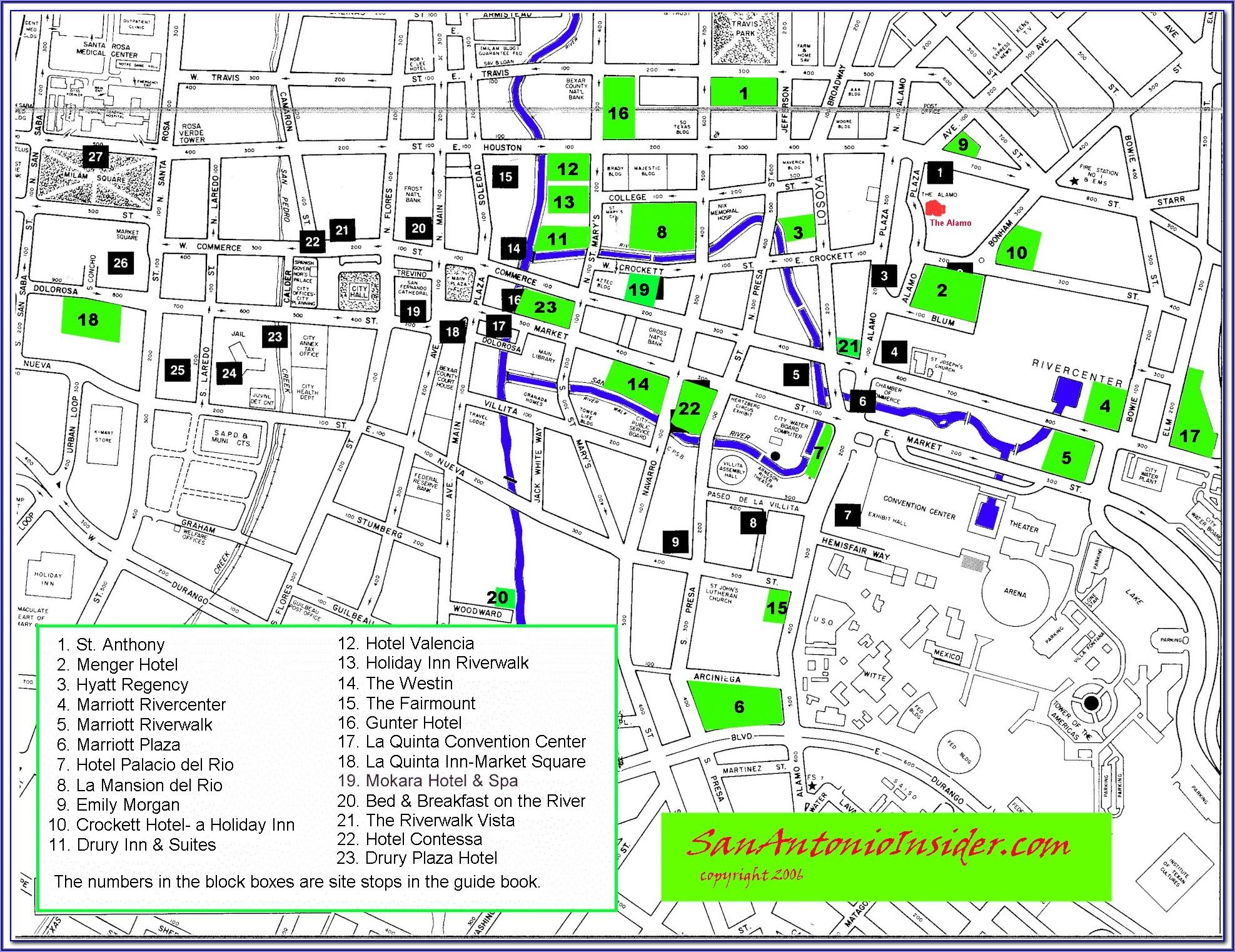 Mayan Riviera Hotels Map
