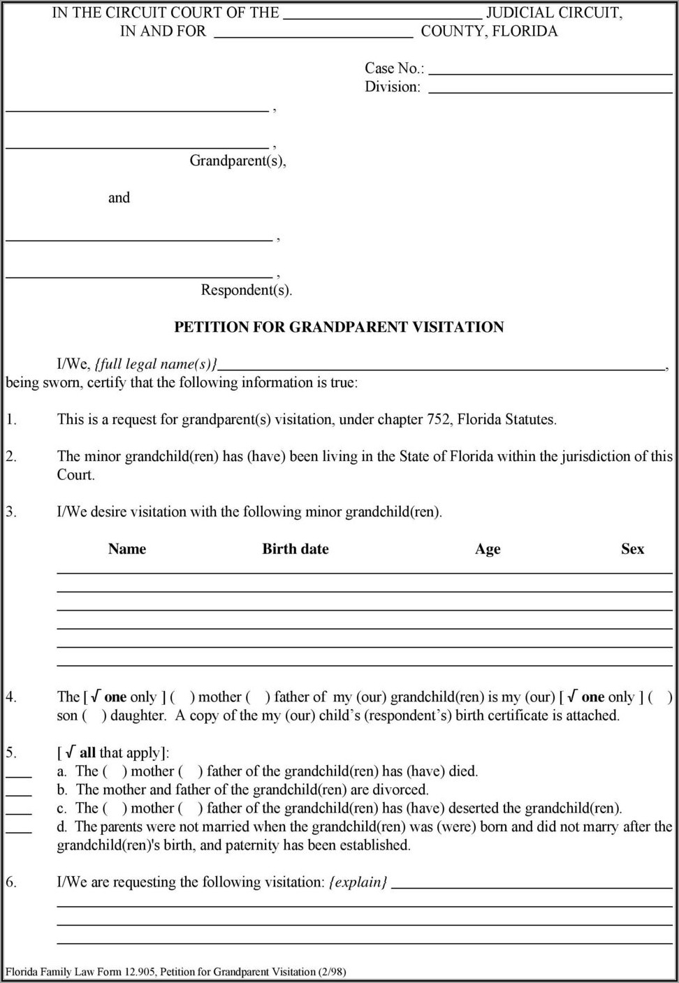 Mchenry County Divorce Forms