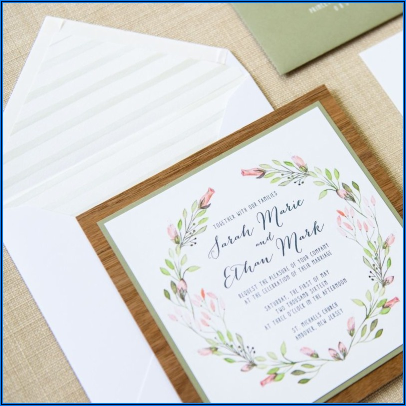 Michaels Wedding Invitations Canada