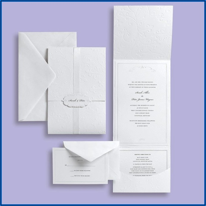 Michaels Wedding Invitations Kit