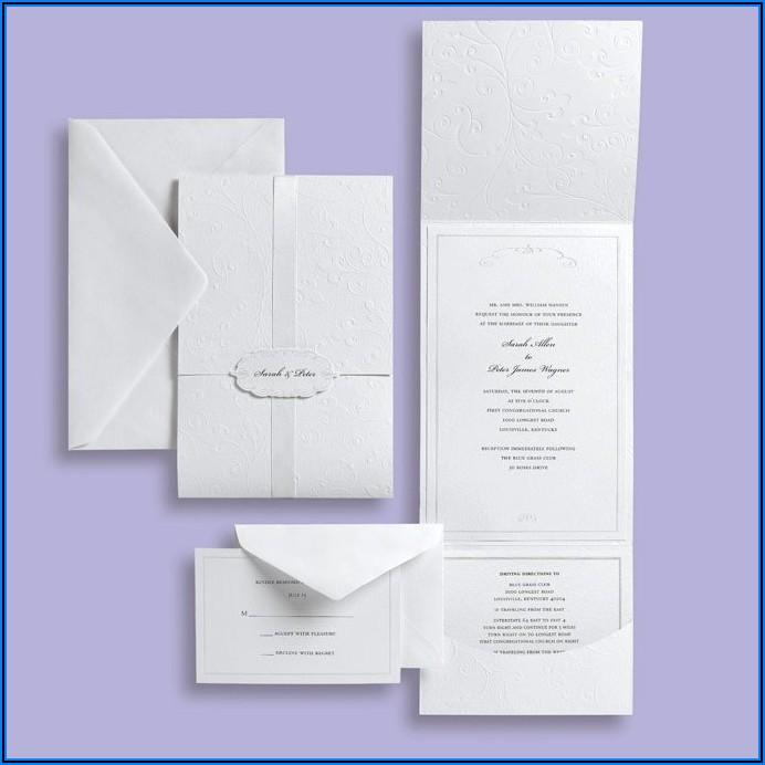 Michaels Wedding Invitations Kit