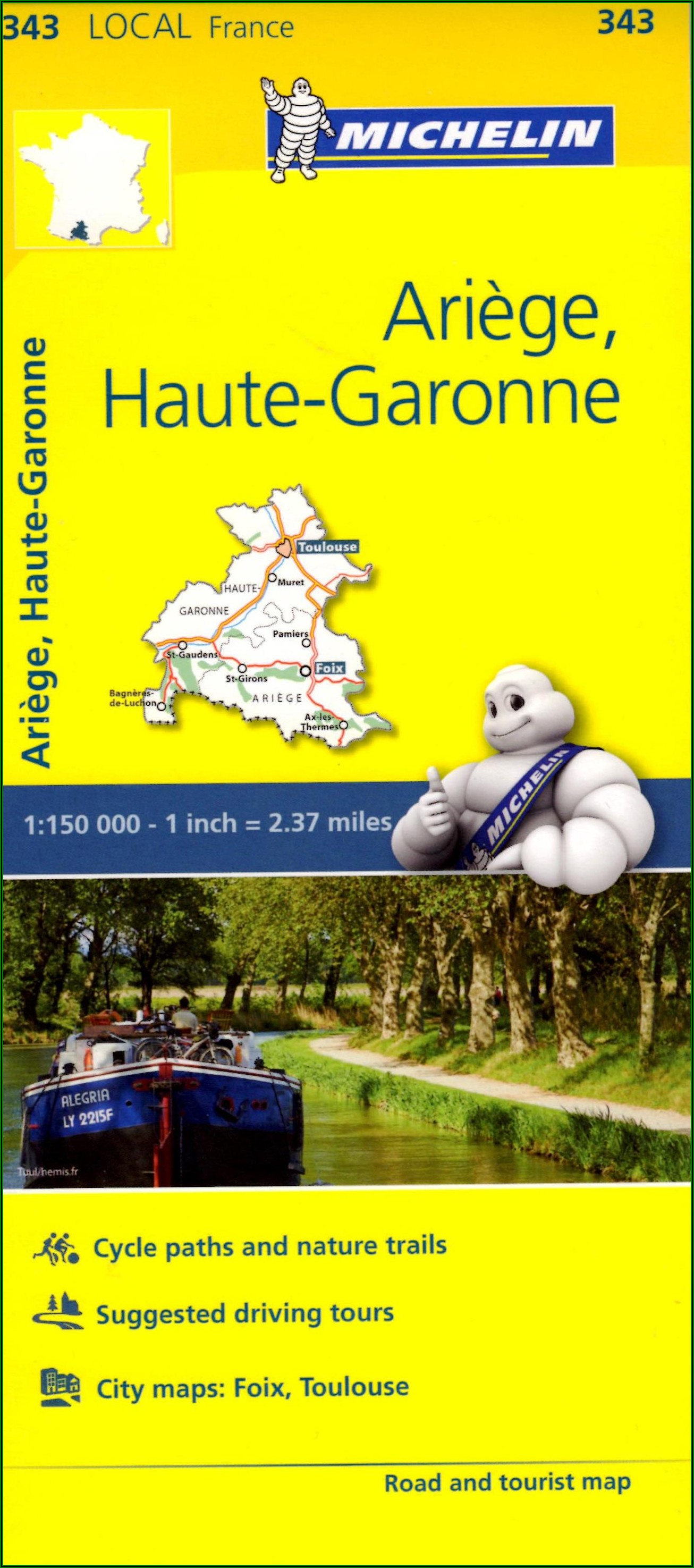 Michelin Local Maps Germany