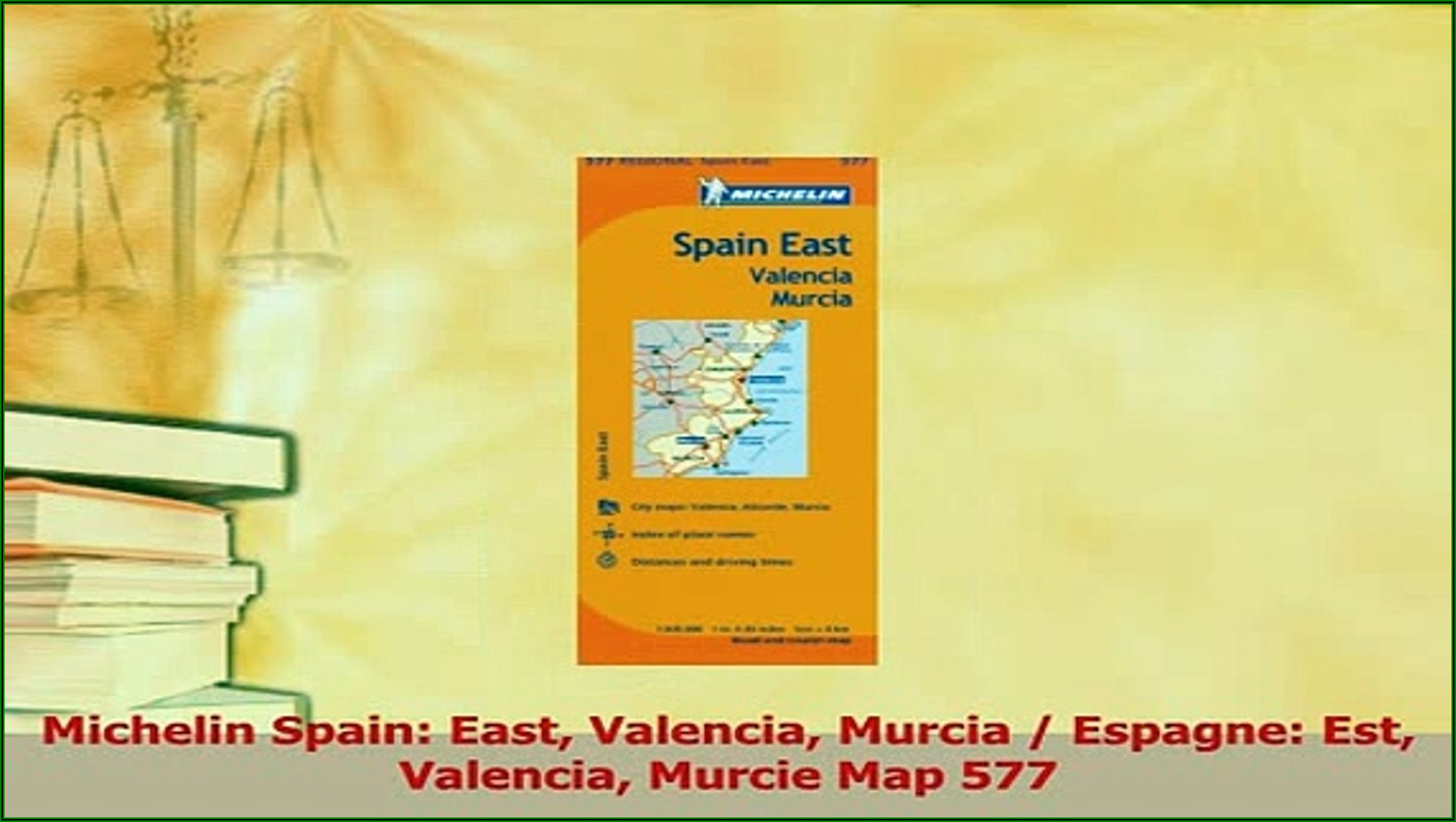 Michelin Map Spain 577