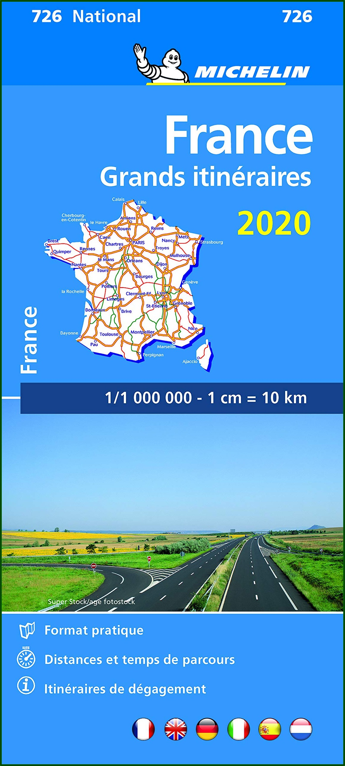 Michelin Maps France 2019
