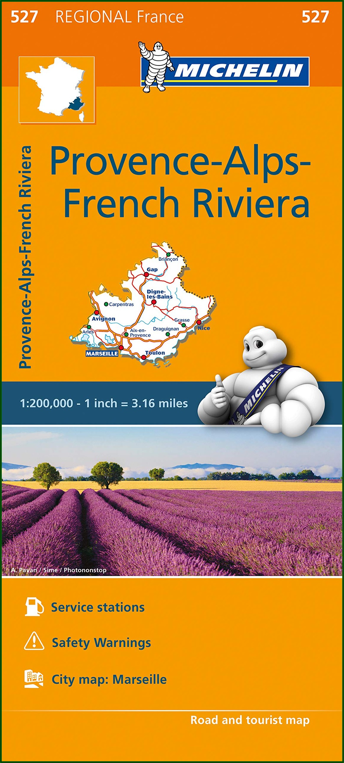 Michelin Maps France Provence