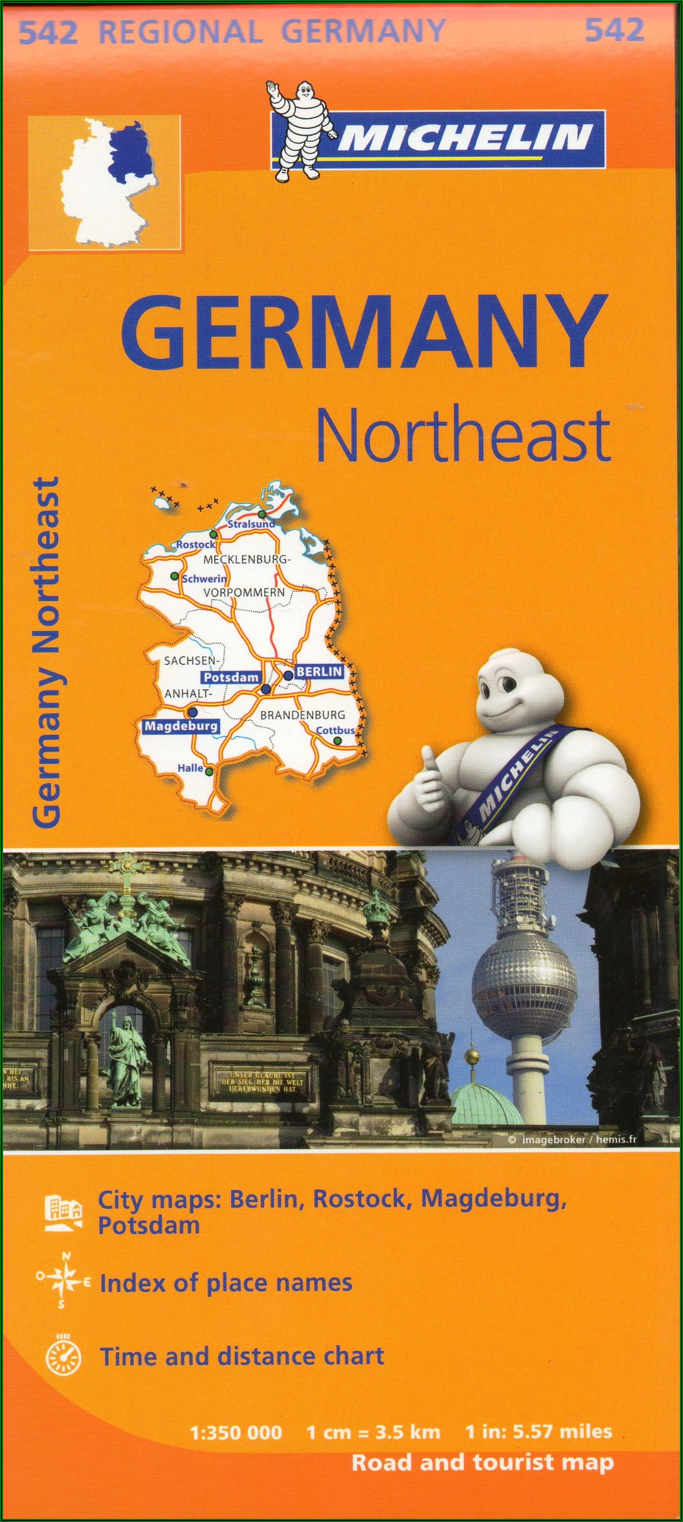 Michelin Maps Germany