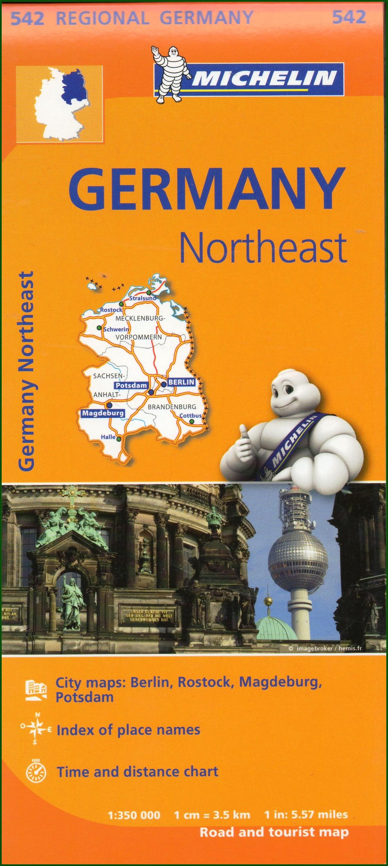 Michelin Maps Germany