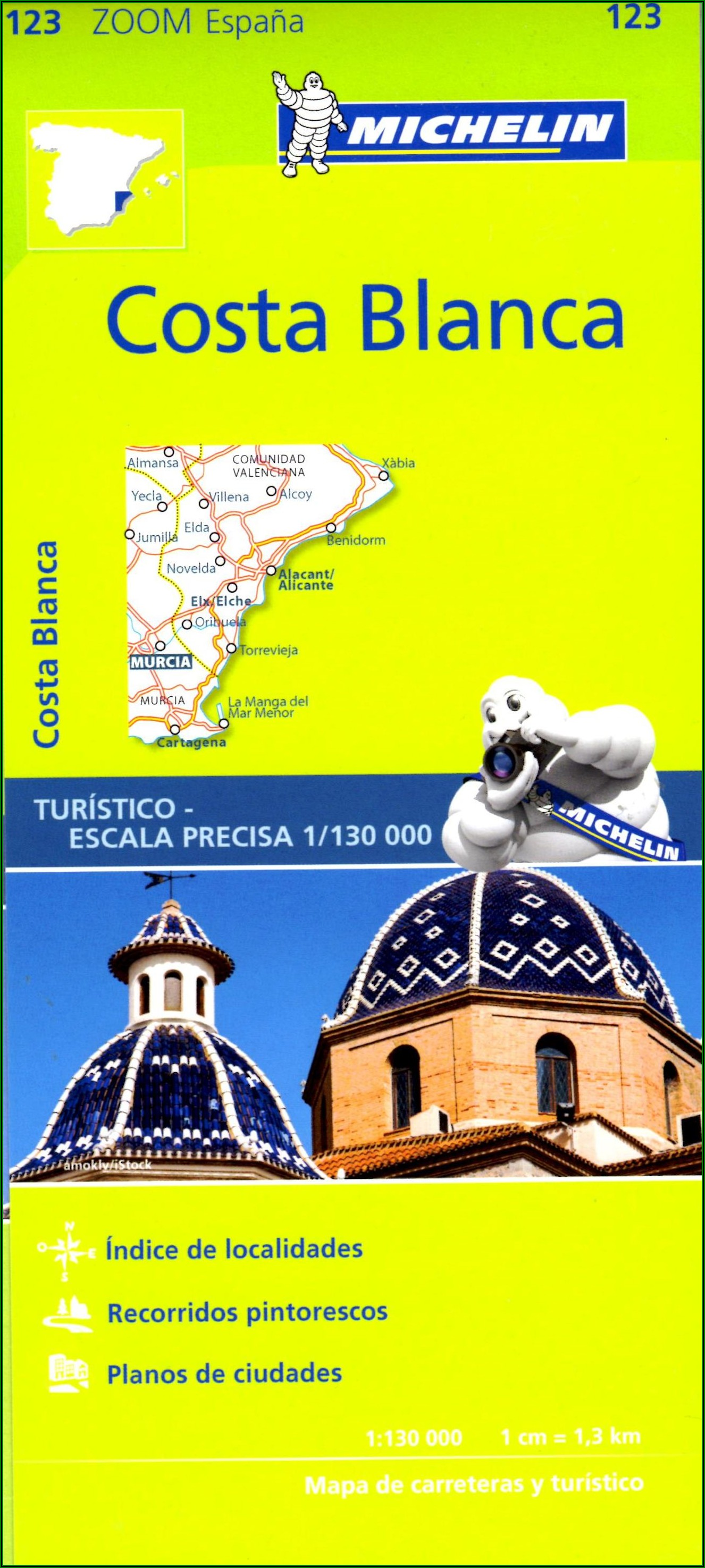Michelin Maps Spain