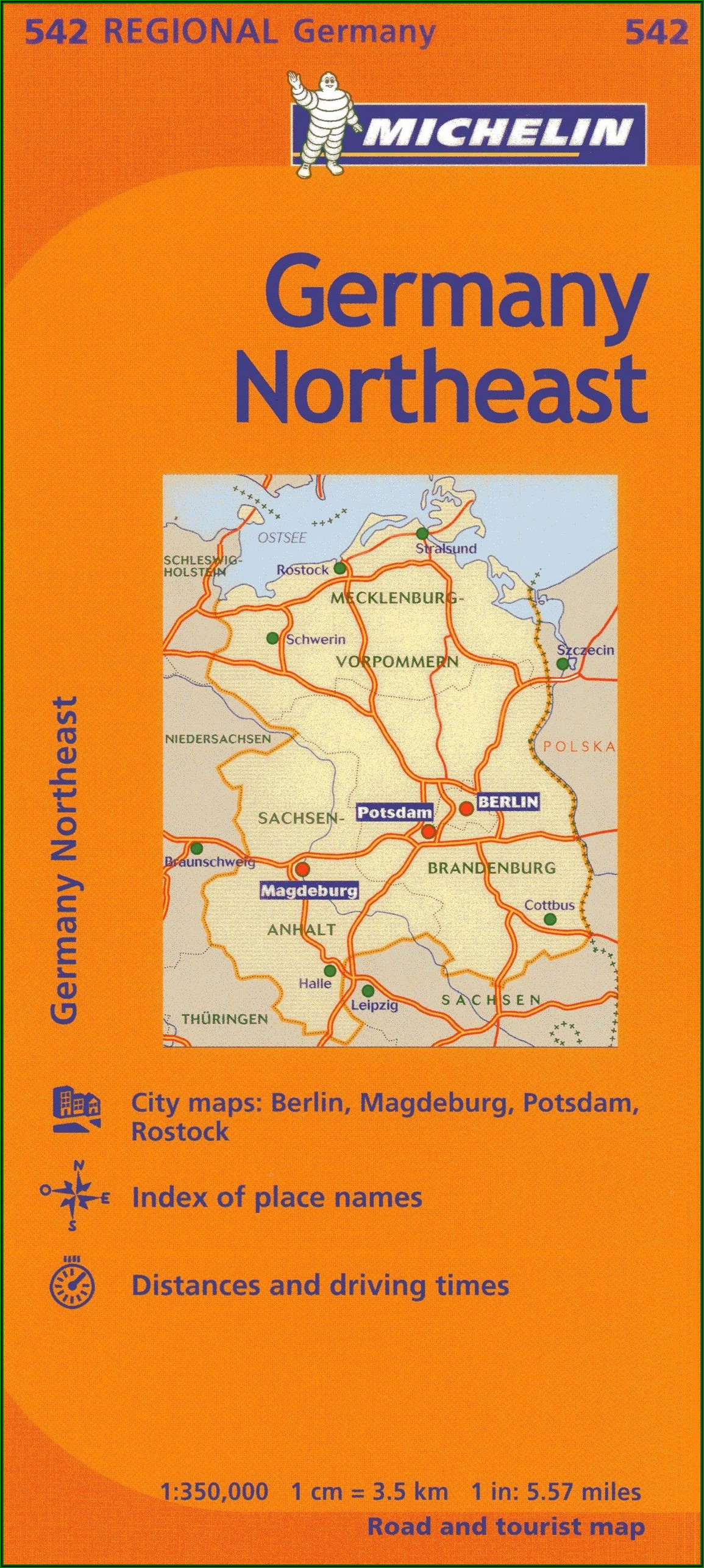Michelin Regional Maps Germany