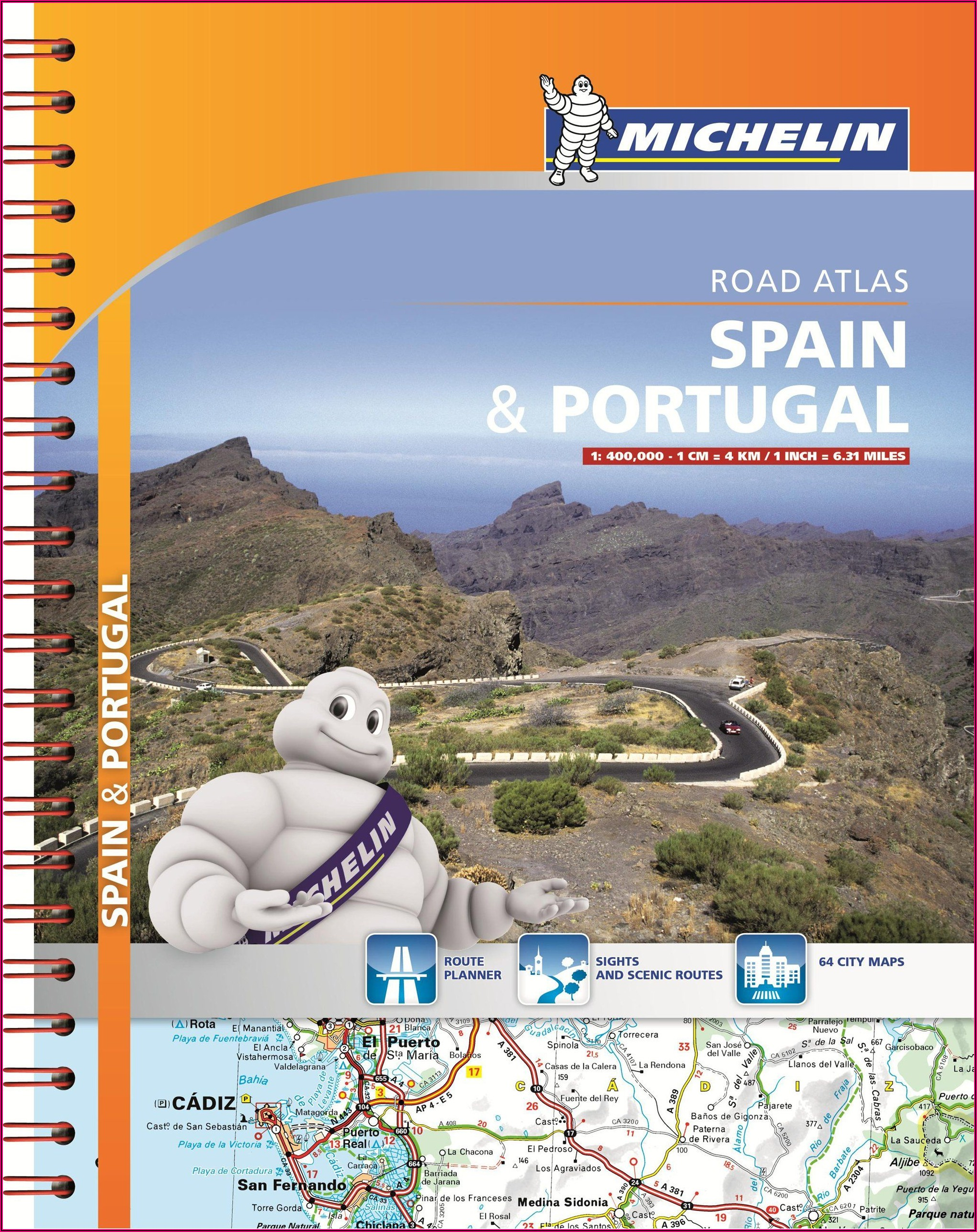 Michelin Road Map Spain And Portugal
